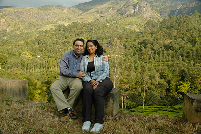 Anu (Arundhathi) & Suchit Nanda. Munnar is a town located in Idukki District of  Kerala (located in the southern Western Ghats). The area is surrounded by vast jungles and is 1600 m (5400 ft) above sea level. There are three rivers - Madupetti, Nallathanni and Periavaru which flow through this town.