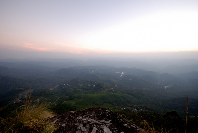 after 500 meter hike from the resort. its a sunset point.