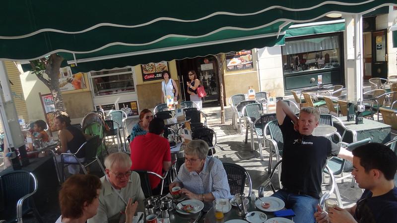 Breakfast in Murcia