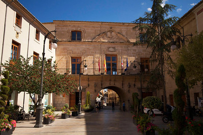 Town Hall square, Caravaca de la Cruz