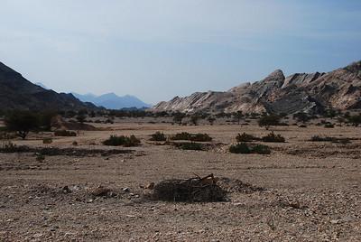 Deserted landscape, Oman