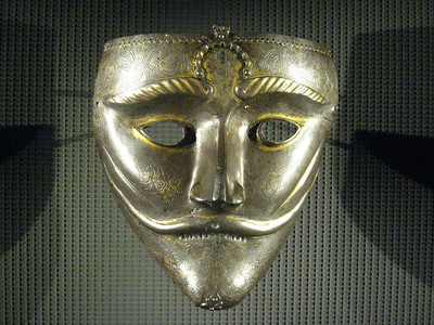 Turkish war mask - amazing, stunning, beautiful in a warlike way.