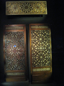 Door panels from Egypt.