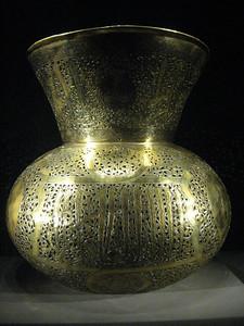 Brass vase.