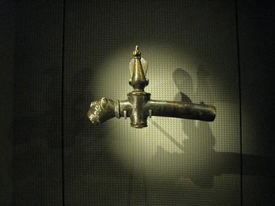 An Egyptian tap.  The lighting used showed everything beautifully.