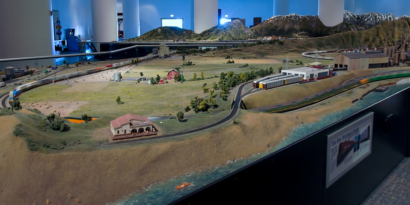 They rebuilt the model RR exhibit in 2002.