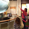 Our first trip to the Museum of Science as members!