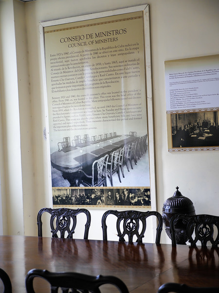 Council of the Ministers, Museo de la Revolución (Museum of the Revolution), Havana, Cuba