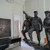 Che, Fidel, Camilo statue at the Museo de la Revolución (Museum of the Revolution), Havana, Cuba