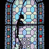 Stained Glass Monkey