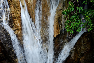 Kempty Falls at Mussoorie, Uttaranchal, India
