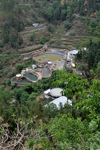 At Kempty Falls, Mussoorie, Uttaranchal, India