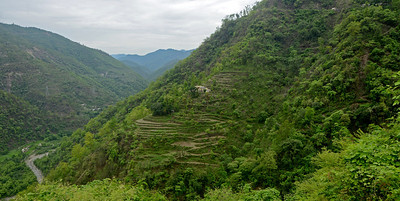 Panoramic view enroute Mussoorie, Uttaranchal, India