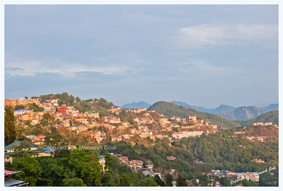 Mussoorie in the evening