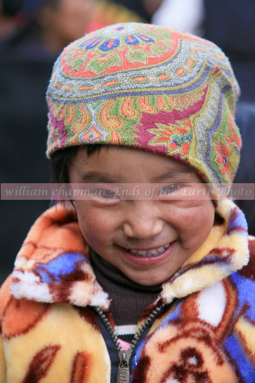 Child of Mustang enjoying the fun of Teej<br /> Upper Mustang