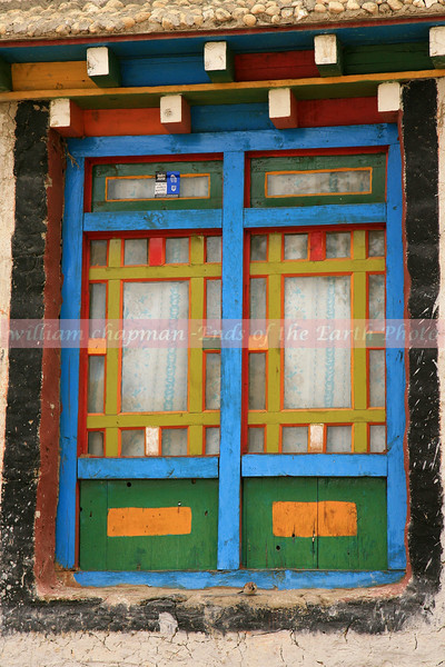 Window scene in Mustang village