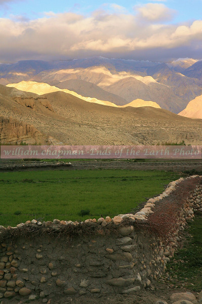 Sunset in Tsarang- Upper Mustang