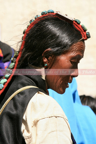 Traditional Tibetan Head gear- Mustanag