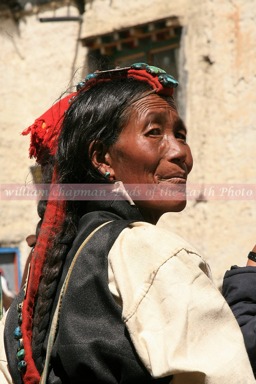 Traditional Tibetan finery- Mustang