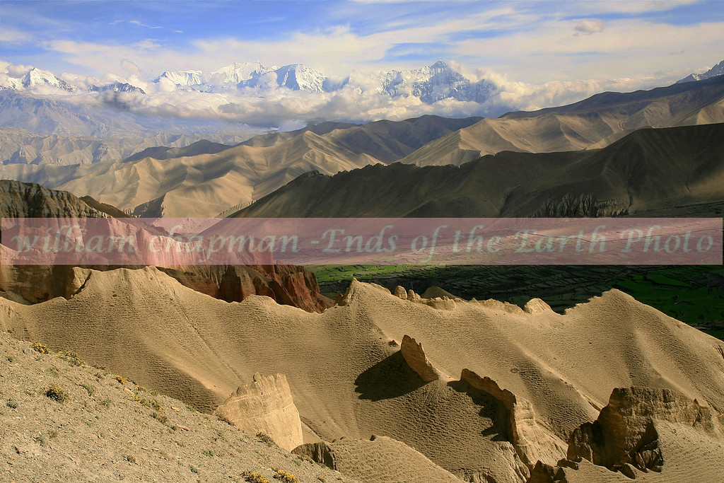 High pass above the village of Drakmar- Upper Mustang