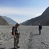 Eric and our sirdar Pemba on the bed of the Kali Gandaki, on the way to Kagbeni.