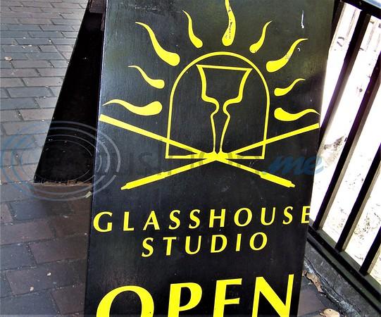Hand blown glass designs