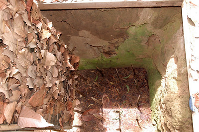 Booby trap, Cu Chi area, South Viet Nam