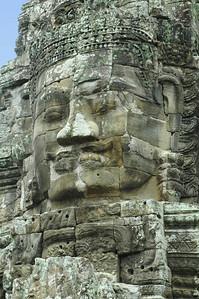 Bayon Temple, Angkor Thom, Cambodia.