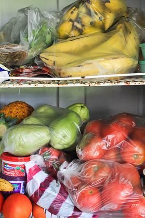 So many fresh fruits and veggies!
