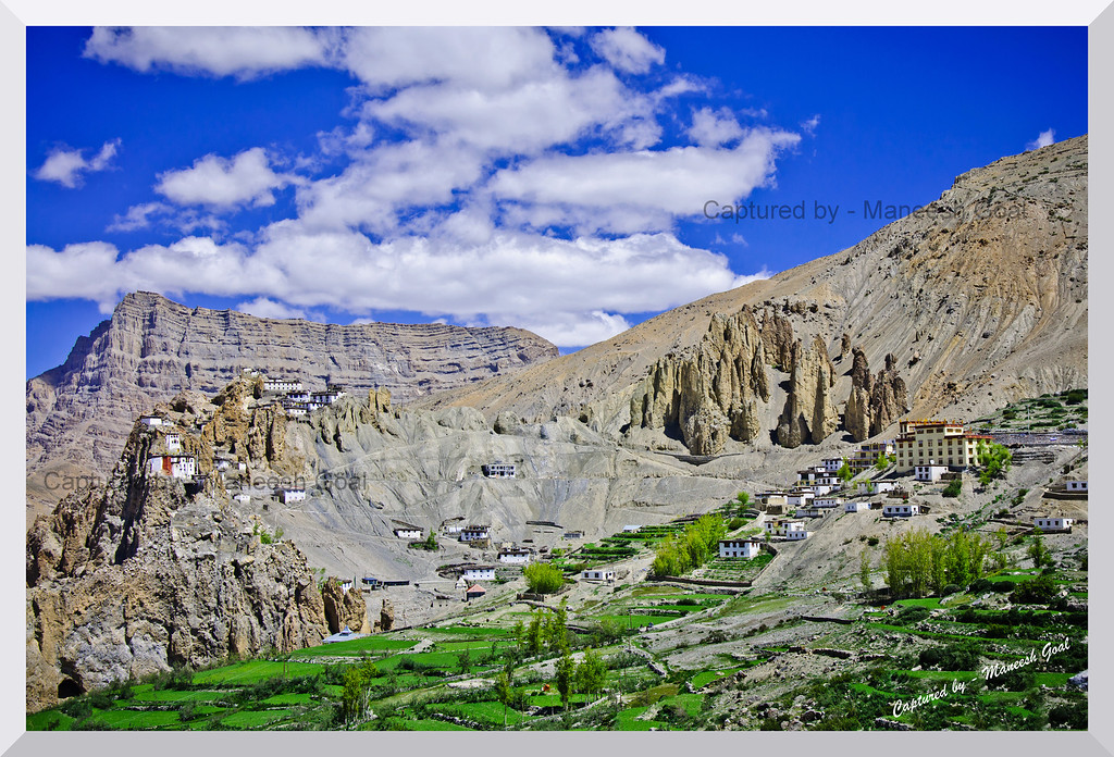 1000 year old Dhankar Monastery, Spiti Valley (Himachal Pradesh)