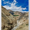 mybioscope > Cold Desert Terrain - Spiti River (below) & the Himalayas