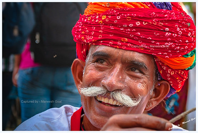 Rajasthani folk dance / music performer