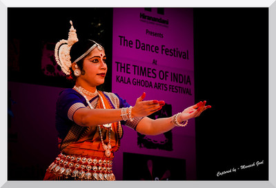 Odissi Dance solo performance by Leesa