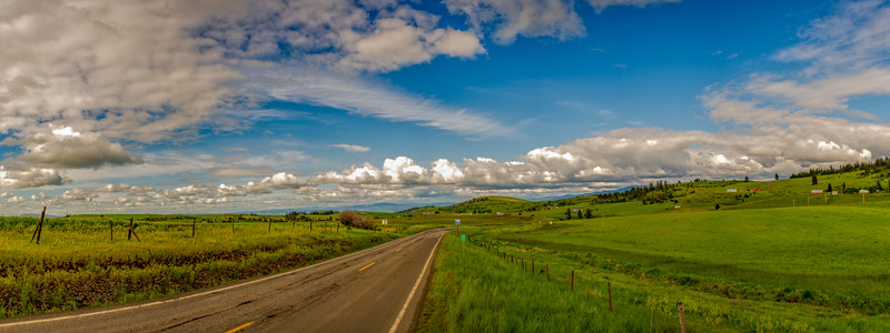 Mile 3 Hwy 13 Idaho Panorama