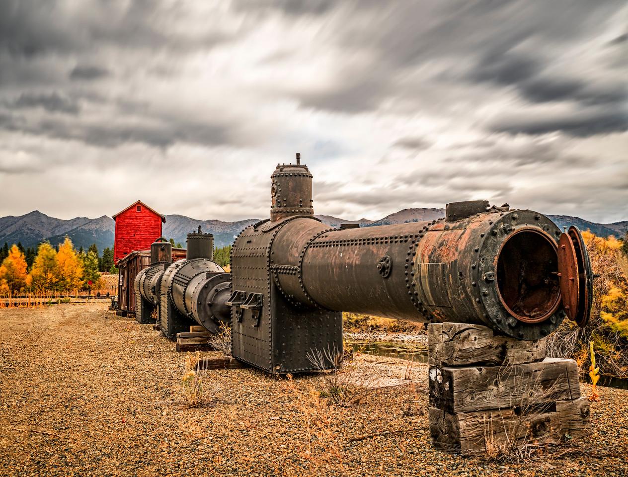 Steam Train Boilers
