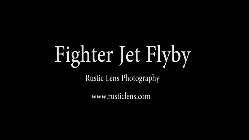 Fighter Jet Flyby