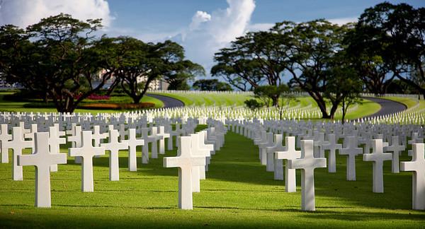 American Cemetery in Manila