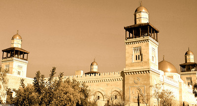 King Hussein Mosque - Amman