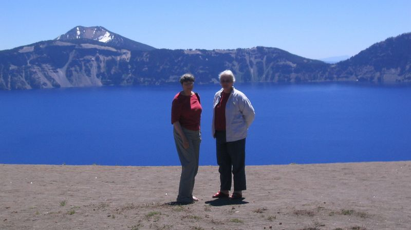 Sisters at Crater Lake