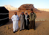 Early morning coffee after a night of desert camping in Wadi Rum, Jordan.