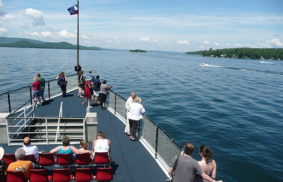 Aboard the M/S Mount Washington on Lake Winnipesaukee, NH