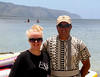 With Paddle board Coahc Brian in Oahu, Hawaii