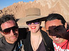 My Chilean cow boys & I take a break from our horseback ride to capture the moment in Death Valley in San Pedro Atacama, Chile.
