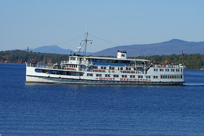M/S Mount Washington on Lake Winnipesaukee.