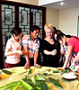 Making local foods and sharing the video I shot w/ my new firends in a village by Huangshan Mountain, China.