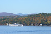 M/S Mount Washington on Lake Winnipesaukee. Red Hill and the Sandwich Mountain Range in the background