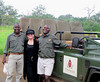 I have no idea what is so funny at Thanda Safari in South Africa.