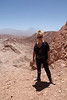 Early morning hike in Death Valley in San Pedro Atacama, Chile.