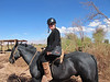 Heading to Death Valley on my Black Beauty for a 4 hour horse back ride in San Pedro Atacama, Chile.