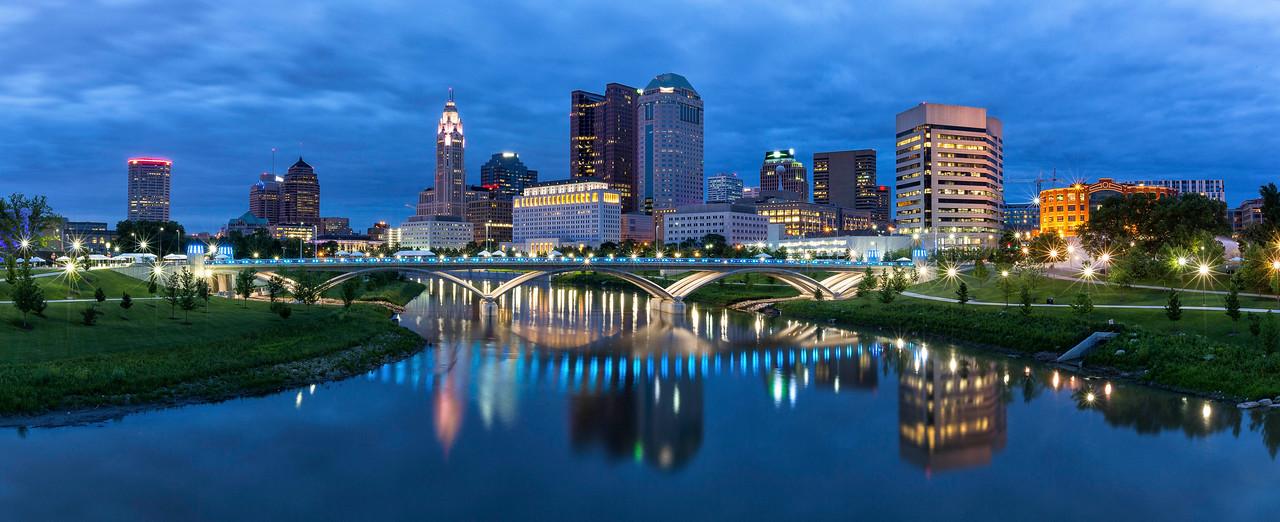 Columbus Blue Hour